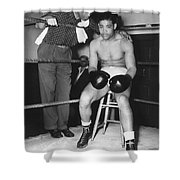 Joe Louis (1914-1981) Shower Curtain