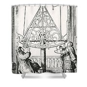 Johannes Hevelius, Polish Astronomer Shower Curtain