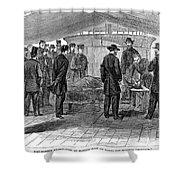 John Wilkes Booth Shower Curtain