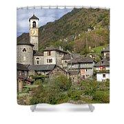 Lavertezzo - Ticino Shower Curtain
