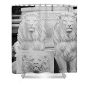 3 Lions Shower Curtain