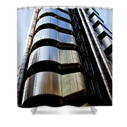 Lloyds Building Central London  Shower Curtain