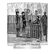 Ludlow Street Jail, 1868 Shower Curtain