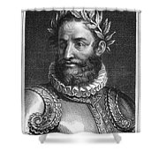 Luiz Vaz De Camoes (1524-1580) Shower Curtain