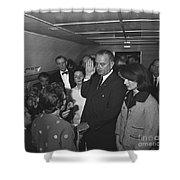 Lyndon Baines Johnson Shower Curtain