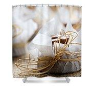 Milk Chocolate Shower Curtain