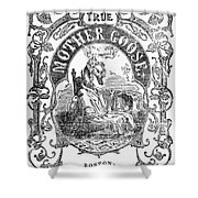 Mother Goose, 1833 Shower Curtain