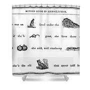 Mother Goose, 1849 Shower Curtain