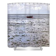 Munkmarsch - Sylt Shower Curtain