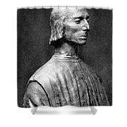 Niccolo Machiavelli Shower Curtain by Granger