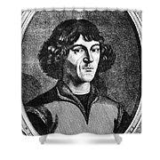 Nicolaus Copernicus Shower Curtain