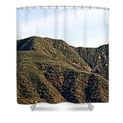 Ojai Valley With Snow Shower Curtain