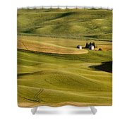 Palouse Fields Whitman County Shower Curtain