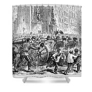 Paris Commune, 1871 Shower Curtain