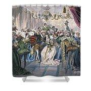Perrault: Cinderella, 1867 Shower Curtain