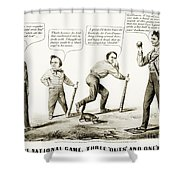 Presidential Campaign, 1860 Shower Curtain