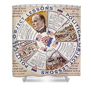 Presidential Campaign, 1896 Shower Curtain