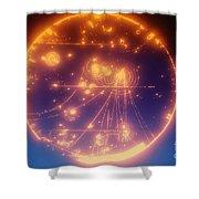 Proton-photon Collision Shower Curtain