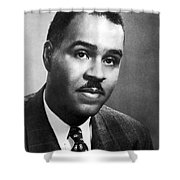 Roy Wilkins (1901-1981) Shower Curtain
