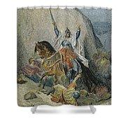 Saladin (1138-1193) Shower Curtain