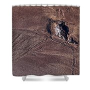 Sandmaps Shower Curtain