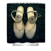 Shoes Shower Curtain by Joana Kruse