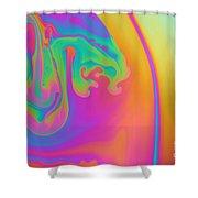 Soap Film Shower Curtain
