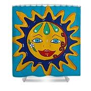 Talavera Sun Shower Curtain