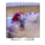 Tauromaquia Bull-fights In Spain Shower Curtain