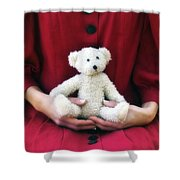 Teddy Bear Shower Curtain