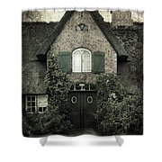 Thatch Shower Curtain by Joana Kruse