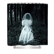 The Bride Shower Curtain