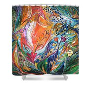 The Glade Shower Curtain