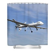 The Ikhana Unmanned Aircraft Shower Curtain
