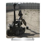 The Teodor Heavy-duty Bomb Disposal Shower Curtain