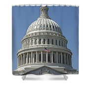 The United States Capitol Building Dome Shower Curtain