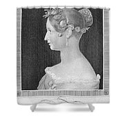 Victoria Of England Shower Curtain