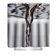 Vortex In Water Shower Curtain