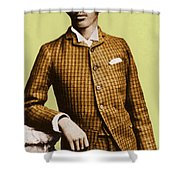 W.e.b. Du Bois, Civil Rights Activist Shower Curtain by Photo Researchers