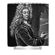 William Congreve Shower Curtain