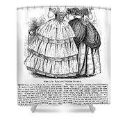 Womens Fashion, 1851 Shower Curtain by Granger