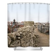 Scenes From The City Of York  Shower Curtain
