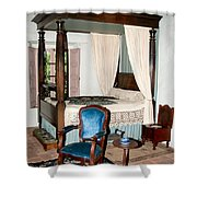 Old Town San Diego Shower Curtain
