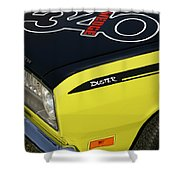 340 Wedge  Shower Curtain