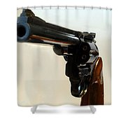 357 Mag Shower Curtain