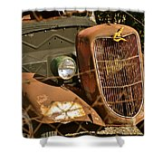 '36 Ford IIi Shower Curtain