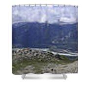 360 Roche Jacques Mountain Shower Curtain