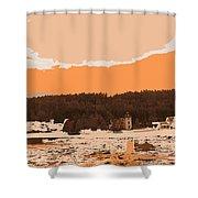 Norway  Landscape Shower Curtain