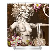 Goddess Shower Curtain