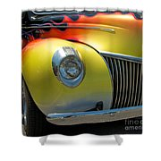 39 Ford Deluxe Hot Rod 3 Shower Curtain